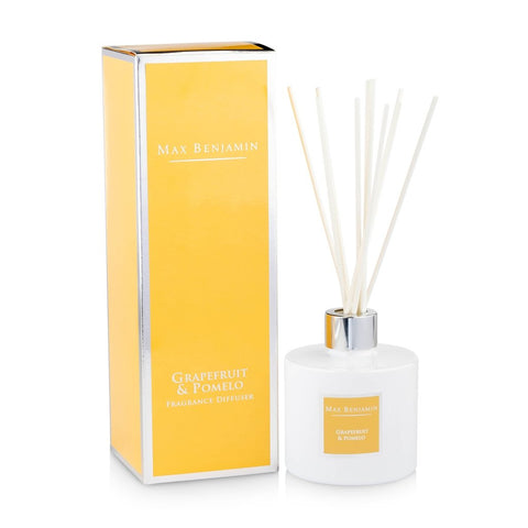 Max Benjamin - Grapefruit & Pomelo Luxury Diffuser-Nook and Cranny - 2019 REI National Gift Store of the Year