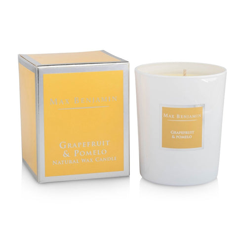 Max Benjamin - Grapefruit & Pomelo Luxury Natural Candle-Nook and Cranny - 2019 REI National Gift Store of the Year