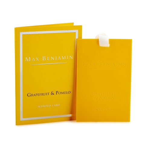 Max Benjamin - Grapefruit & Pomelo Scented Card-Nook & Cranny Gift Store-2019 National Gift Store Of The Year-Ireland-Gift Shop
