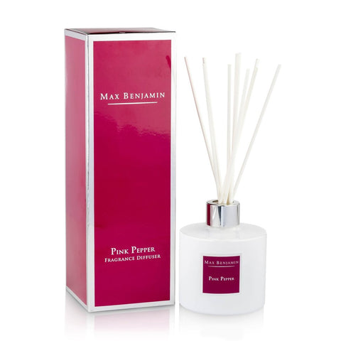Max Benjamin - Pink Pepper Luxury Diffuser-Nook and Cranny - 2019 REI National Gift Store of the Year