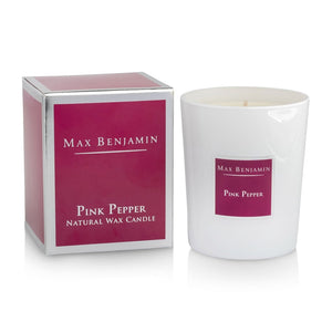 Max Benjamin - Pink Pepper Luxury Natural Candle-Nook and Cranny - 2019 REI National Gift Store of the Year