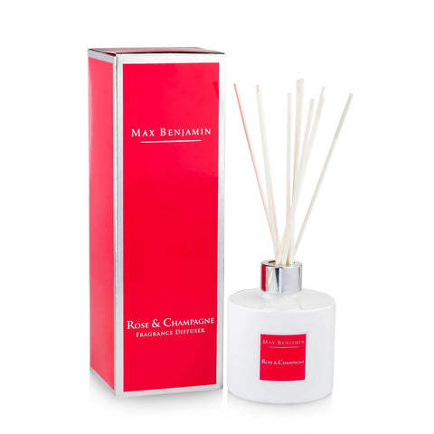 Max Benjamin - Rose & Champagne Luxury Diffuser-Nook and Cranny - 2019 REI National Gift Store of the Year
