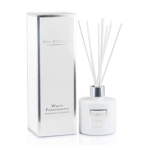 Max Benjamin - White Pomegranate Luxury Diffuser-Nook and Cranny - 2019 REI National Gift Store of the Year