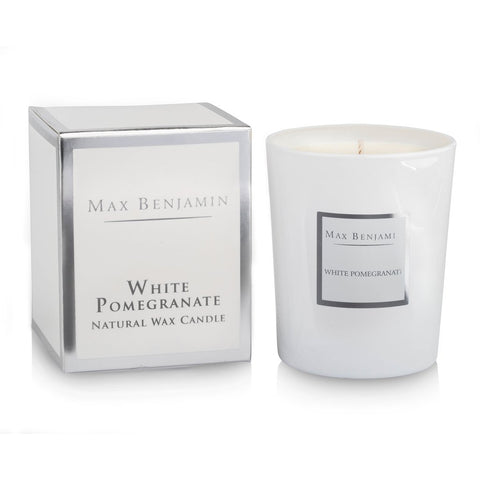Max Benjamin - White Pomegranate Luxury Natural Candle-Nook and Cranny - 2019 REI National Gift Store of the Year