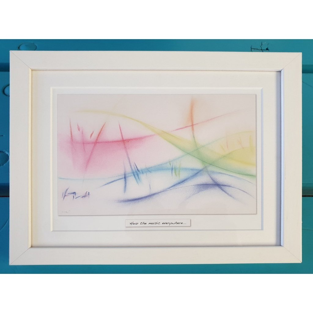 'Music Of Life' - Framed Irish Art Print-Nook & Cranny Gift Store-2019 National Gift Store Of The Year-Ireland-Gift Shop
