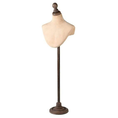 Necklace Mannequin on Stand-Nook and Cranny - 2019 REI National Gift Store of the Year