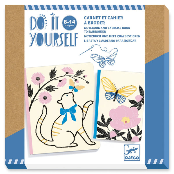 Notebooks to decorate - Poetic Garden (8-14yrs)-Nook and Cranny - 2019 REI National Gift Store of the Year