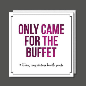 Only came for the buffet - card-Nook and Cranny - 2019 REI National Gift Store of the Year