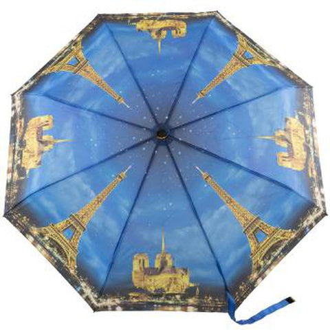 Paris by Night - Stick Umbrella-Nook and Cranny - 2019 REI National Gift Store of the Year