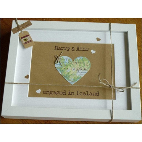 Personalised Engagement Frame - Handcrafted in Ireland-Nook and Cranny - 2019 REI National Gift Store of the Year