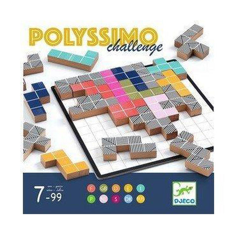 Polyissimo Game - 7 to 99 years!-Nook and Cranny - 2019 REI National Gift Store of the Year