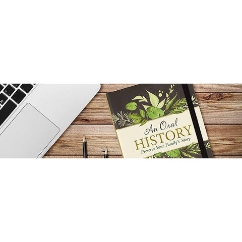 Preserve your family's history - Hardback-Nook and Cranny - 2019 REI National Gift Store of the Year