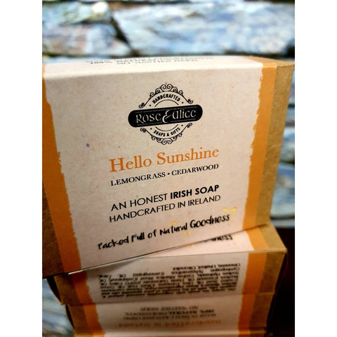 Rose & Alice Handcrafted Soap - Hello Sunshine-Nook and Cranny - 2019 REI National Gift Store of the Year