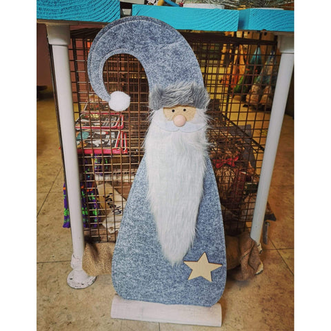 Santa Felt Standing Decoration - Large-Nook & Cranny Gift Store-2019 National Gift Store Of The Year-Ireland-Gift Shop