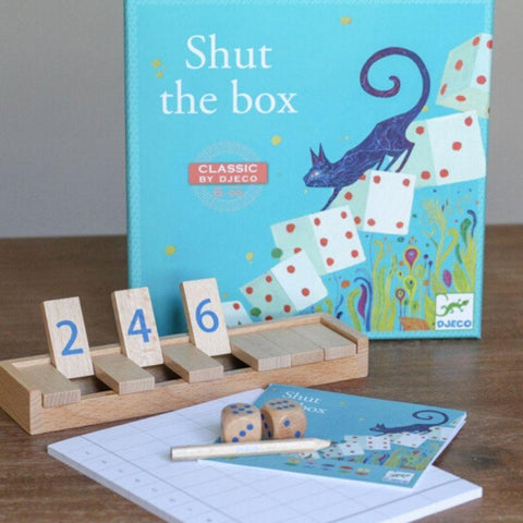 Shut the box - Ages 6 to 99-Nook and Cranny - 2019 REI National Gift Store of the Year