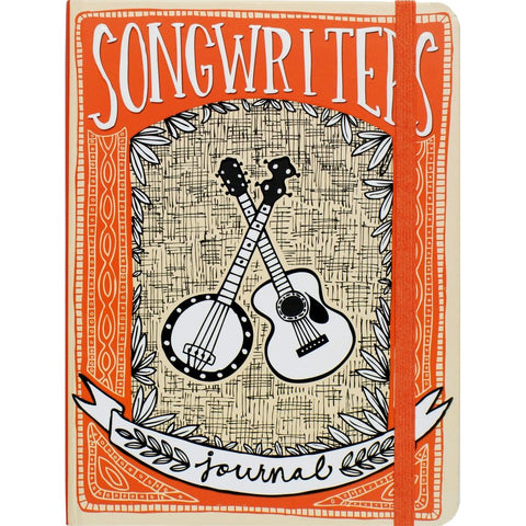 Songwriters Journal - Hardback-Nook and Cranny - 2019 REI National Gift Store of the Year