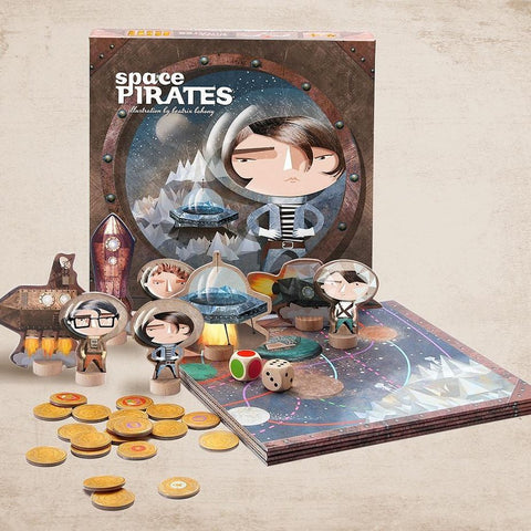 Space Pirates - an imaginative board game for 2-4 players aged 4+-Nook and Cranny - 2019 REI National Gift Store of the Year