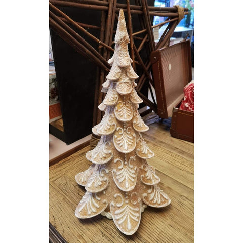 Sparkling Gingerbread Christmas Tree Ornament-Nook and Cranny - 2019 REI National Gift Store of the Year