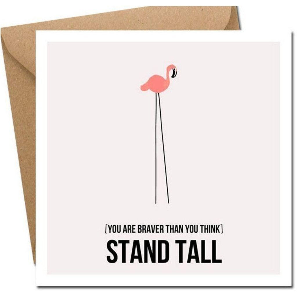 Stand Tall Card-Nook and Cranny - 2019 REI National Gift Store of the Year