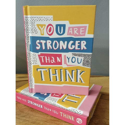 Stronger than you think (Small Hardback Book)-Nook and Cranny - 2019 REI National Gift Store of the Year