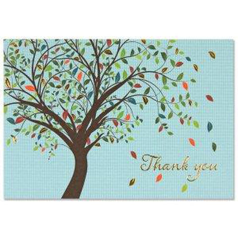 Thank you Cards - Box Set 14 Note Cards & 15 Envelopes - Tree of LIfe-Nook and Cranny - 2019 REI National Gift Store of the Year