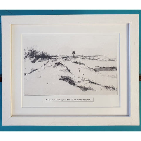 'The Field' - Framed Irish Art Print-Nook and Cranny - 2019 REI National Gift Store of the Year