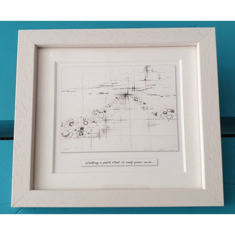 The Journey - Framed Irish Art Print-Nook and Cranny - 2019 REI National Gift Store of the Year