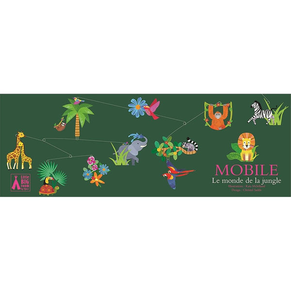 The Jungle World - Mobile to decorate a childs bedroom-Nook & Cranny Gift Store-2019 National Gift Store Of The Year-Ireland-Gift Shop
