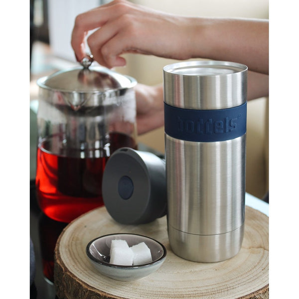 Thermal reusable vacuum Mug - 370ML - Night Blue-Nook and Cranny - 2019 REI National Gift Store of the Year