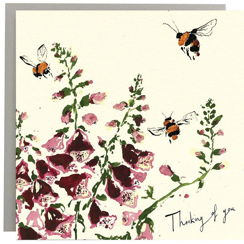 Thinking of you (Bees) - Card-Nook & Cranny Gift Store-2019 National Gift Store Of The Year-Ireland-Gift Shop