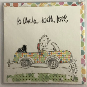 To Uncle...with Love - Card-Nook and Cranny - 2019 REI National Gift Store of the Year