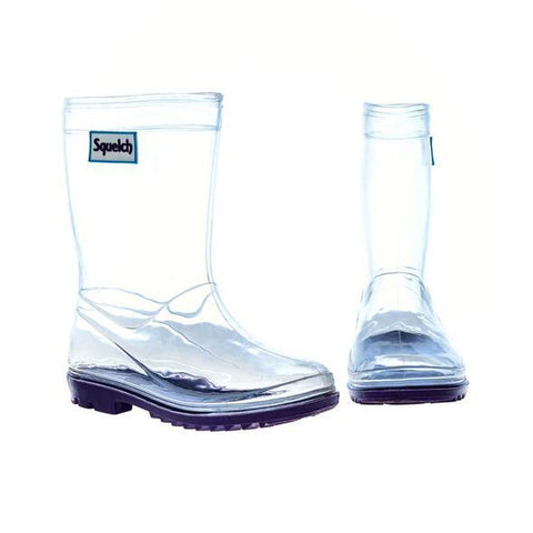 Transparent Welly Boots Childs Size 9.5 UK (27 EU) Aged 4-5-Nook and Cranny - 2019 REI National Gift Store of the Year