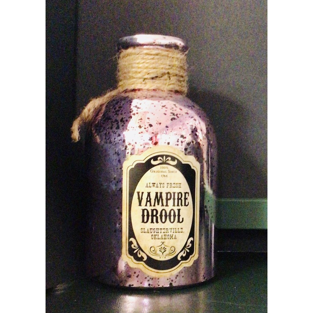Vampire Drool Bottle Ornament-Nook and Cranny - 2019 REI National Gift Store of the Year
