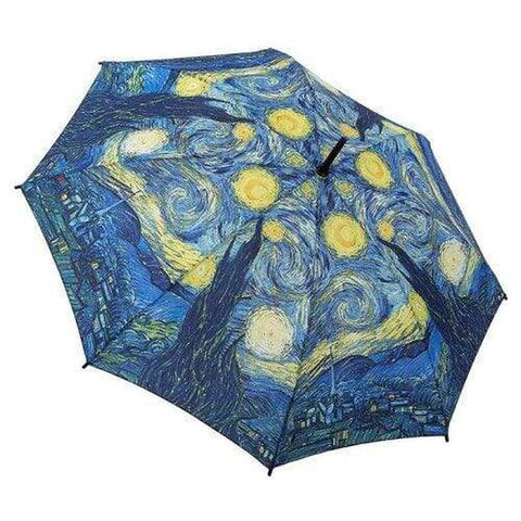 Van Gogh 'Starry Night' - Stick Umbrella-Nook and Cranny - 2019 REI National Gift Store of the Year