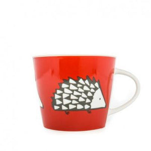 Vibrant Hedgehog Mug - Red-Nook and Cranny - 2019 REI National Gift Store of the Year
