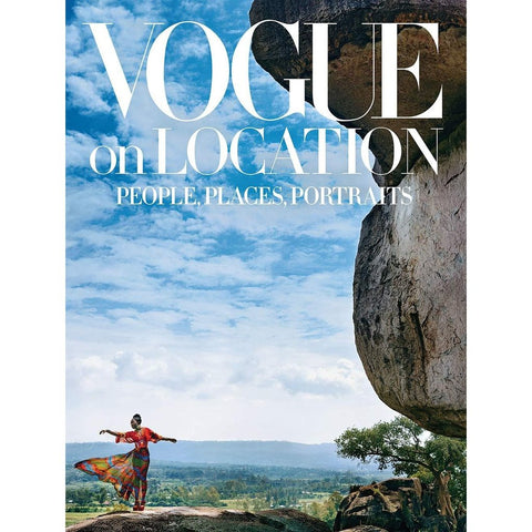 Vogue on Location: People, Places, Portraits - an exquisite coffee table hardback.-Nook and Cranny - 2019 REI National Gift Store of the Year