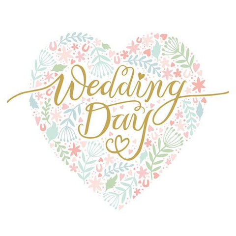 Wedding Day - Large Card-Nook and Cranny - 2019 REI National Gift Store of the Year