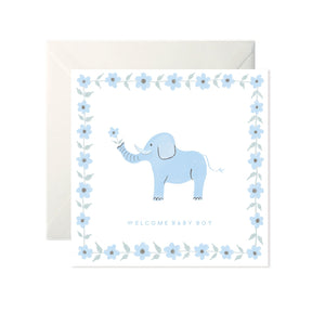 Welcome Baby Boy - Card-Nook and Cranny - 2019 REI National Gift Store of the Year