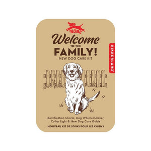 Welcome to the family, DOG KIT-Nook and Cranny - 2019 REI National Gift Store of the Year