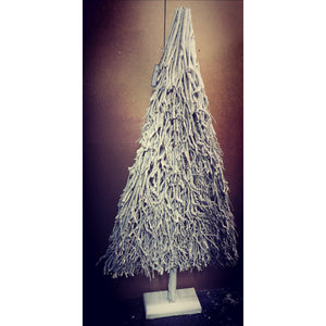 Winter Wonderland Flat White Branch Christmas Tree-Nook & Cranny Gift Store-2019 National Gift Store Of The Year-Ireland-Gift Shop
