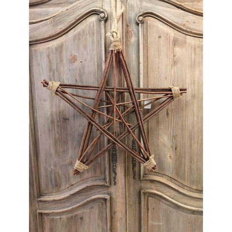 Wooden Star Wreath - Large-Nook & Cranny Gift Store-2019 National Gift Store Of The Year-Ireland-Gift Shop