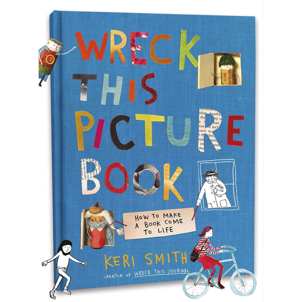 Wreck This Picture Book-Nook and Cranny - 2019 REI National Gift Store of the Year
