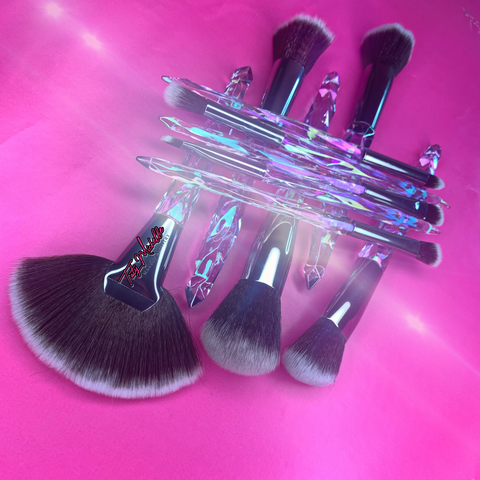 Deluxe Crystal Clear Brush Set