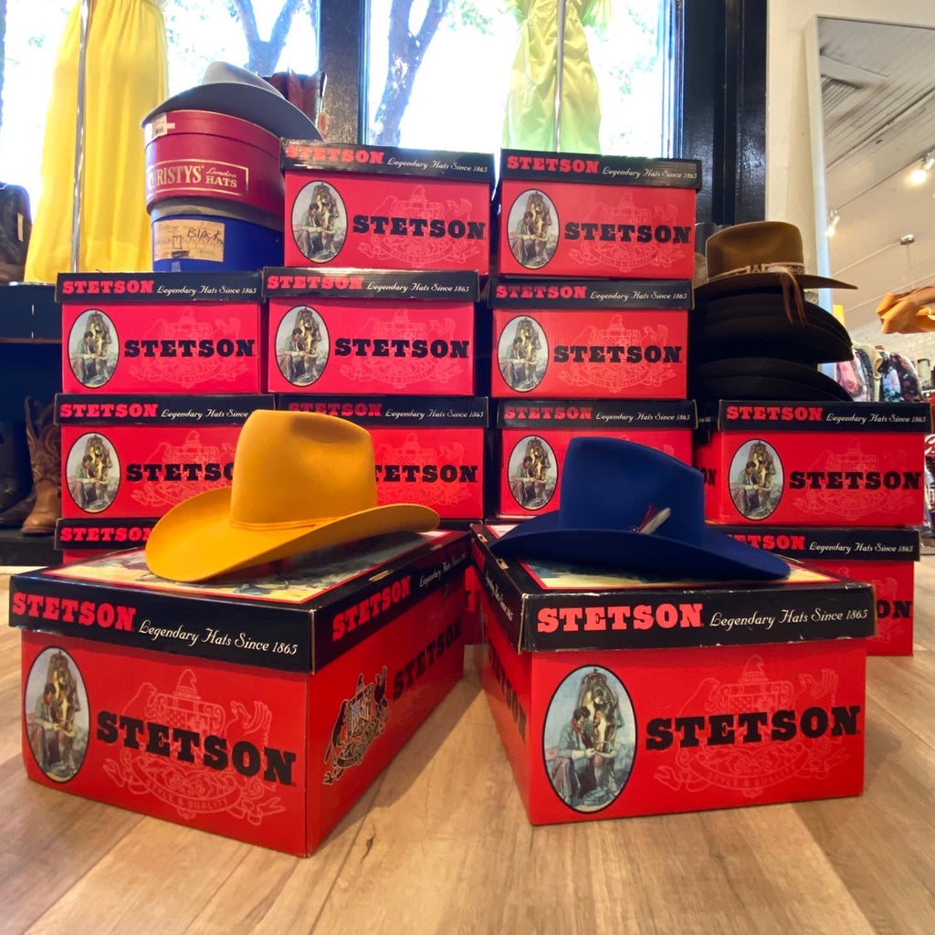 Tally-ho! Stetsons in stock