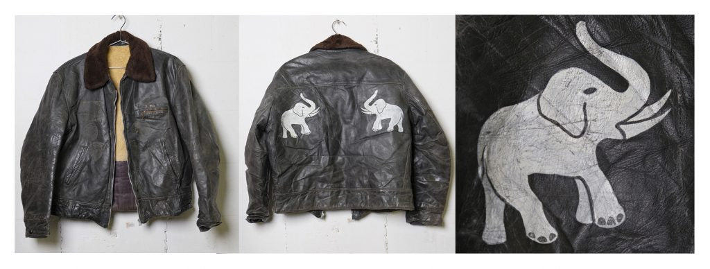 WWII Hand Painted Bomber Jacket