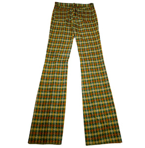 1970's Fenton Flare Deadstock Poly Western  Pants