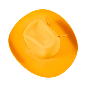 Mustard Yellow Stetson Hat