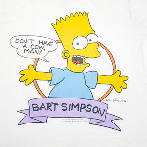 1990 Don't Have A Cow, Man! Bart Simpson Tee