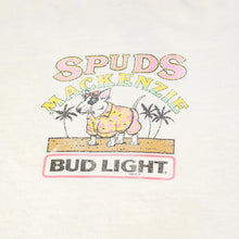 Load image into Gallery viewer, 1986 Bud Light Spuds Mackenzie Crewneck Tee