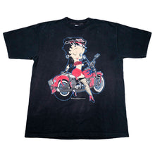 Load image into Gallery viewer, Vintage 1992 Betty Boop Motorcycle Tee
